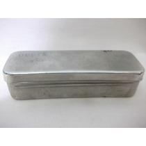 B. Antigo - Caixa De Farmácia Antiga Em Aço Inox
