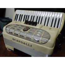 Scandalli Italy 120bx 2ª De Voz,usado