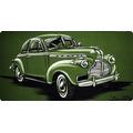 Chevrolet Coupe 1940 Vd / Pintura Em Acrilico Sobre Tela