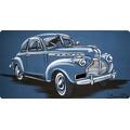Chevrolet Coupe 1940 Az / Pintura Em Acrilico Sobre Tela