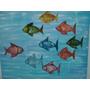 Quadro Acrílica Peixes