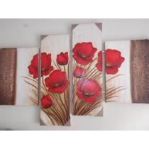 Super Promoção Tela, Quadros Decorativos Moderno De Flores