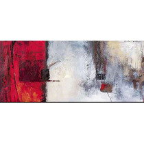 Quadro Pintura Tela Abstrato 80 Cm X 1,80 Metro