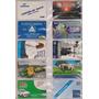 Cartões Telefônicos - Raros / Lote Com 10 Cts.