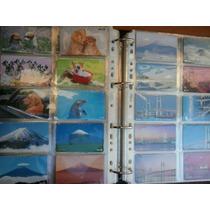Coleção Com 55 Cartões Diferentes Do Japão - Começa 1 R$