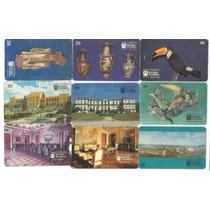 30 Cartões Antigo Telebras Da Série Museu ( Sem Repetições!)