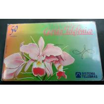 Ct - Orquídea Telebras Interprint À Direita Raríssimo