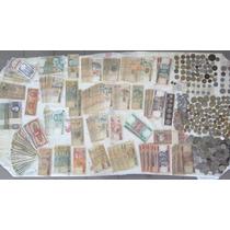 Coleção De Dinheiro Antigo - Muito Barato!!