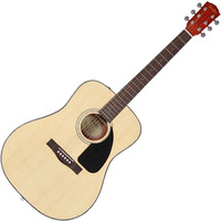 Violao Fender Acustico Dreadnought Cd60 Natural Brilhante
