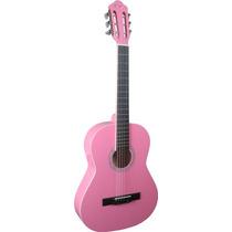 Thomaz Tcg-360 A Violão Aço Infantil Rosa - Frete Grátis