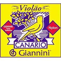 Corda De Nylon Genwb Para Violão 4ª Corda Giannini