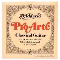 Corda De Violão De Nylon Daddario Ej-34 Folk