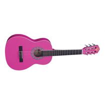 Promoção! Phx Px31 Violão Acústico Infantil Rosa