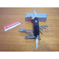 Canivete Victorinox Suiço Preto Swiss Army Knives Faca