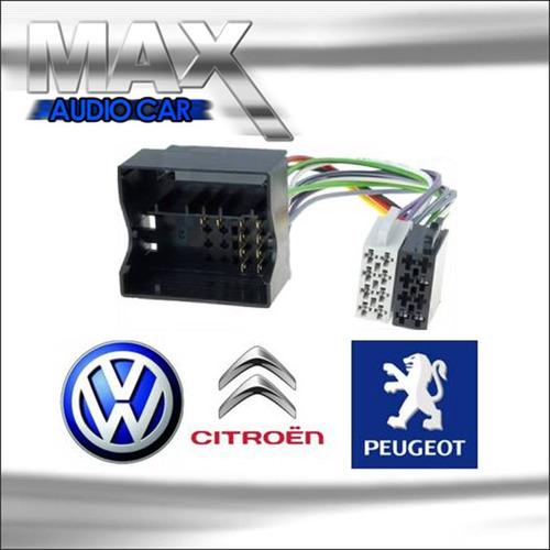 Adaptador De Antena E Rádio Chicote Cintroem/peugeot/vw