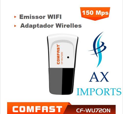Adaptador Wifi Chipset Ralink 5370 Compativel Com Receptores