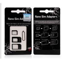Adaptador Chip Micro Nano Sim Card Ipad Iphone 5 4 4s S3 S4