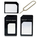 Adaptador Chip Micro Sim Nano Chip Iphone 4s 5s Samsung S4