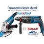 Furadeira Rompedor + Emerilhadeira, Lixadeira Bosch