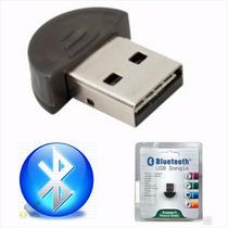 Adaptador Bluetooth Dongle Usb 2.0 Pc Notebook Celular   V19