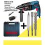 Furadeira Martelete Bosch Gbh 2-24 D 800w/220v+kit Completo