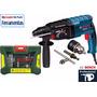 Furadeira Rompedor 800w/220v.+ Kit Brocas Bosch + Mnadril