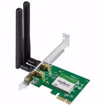 Placa De Rede Intelbras Wpn 300express Mini-pci