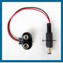 Adaptador Bateria 9v Arduino - Fonte Ligar Pilha Conector