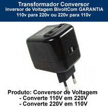 Transformador Conversor Inversor Voltagem110v-220v/220v-110v