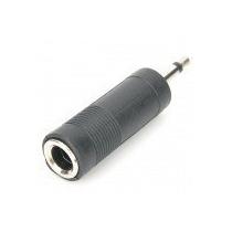 Adaptador Conector Plug P10 Femea Para P2 Macho