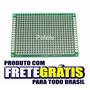 2 X Placa Perfurada De Fibra De Vidro 7 X 5 Cm Dupla Face -