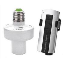 Adaptador Com Controle Remoto P/ Lâmpadas Soquete E27 Bivolt