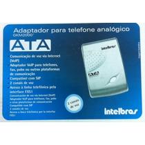 Ata Adaptador Para Telefone Analógico Intelbrás Gkm2000t
