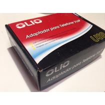Adaptador Para Telefone Voip Novo Na Caixa Com Nfe