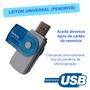 Leitor E Gravador Cartão De Memória Usb Pro Duo 4 Em 1