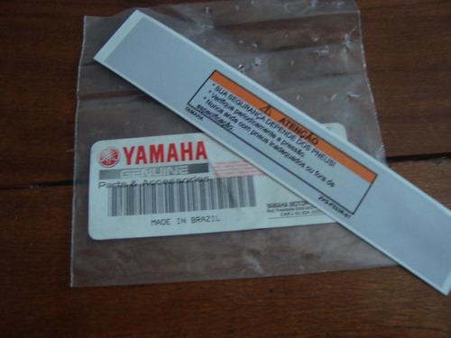 Aparador Y Vitrina Clasico ~ Adesivo De Advertencia Yamaha Roda Xt 600 Teneré Dt 200 R$ 32,00 no MercadoLivre
