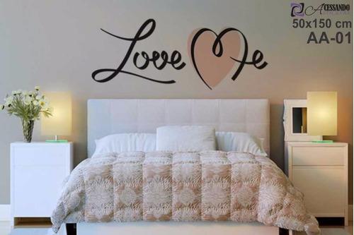 Adesivo De Parede Para Quarto Casal Love Me Romantico  ~ Adesivo De Parede Para Quarto Casal Romantico