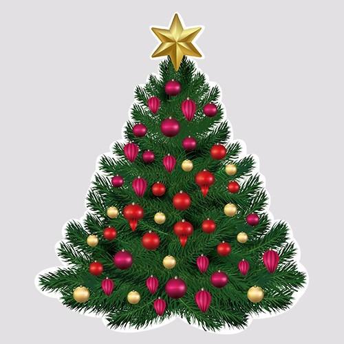 Arte E Artesanato Folclorico ~ Adesivo De VitrineÁrvore De Natal Para Campanhas Em Lo