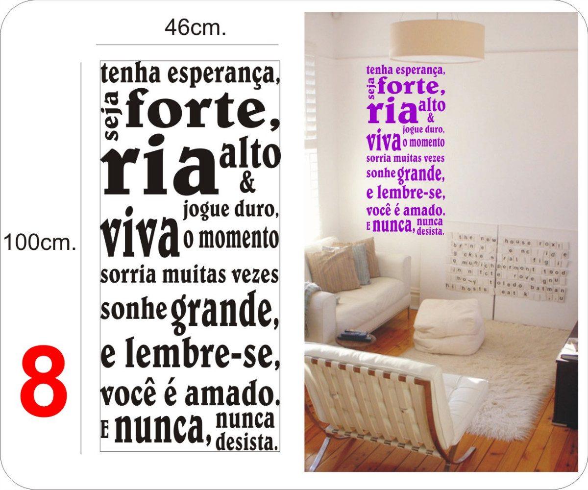Pics Photos Adesivo Decorativo Parede Frases Palavras #C60505 1200 1000