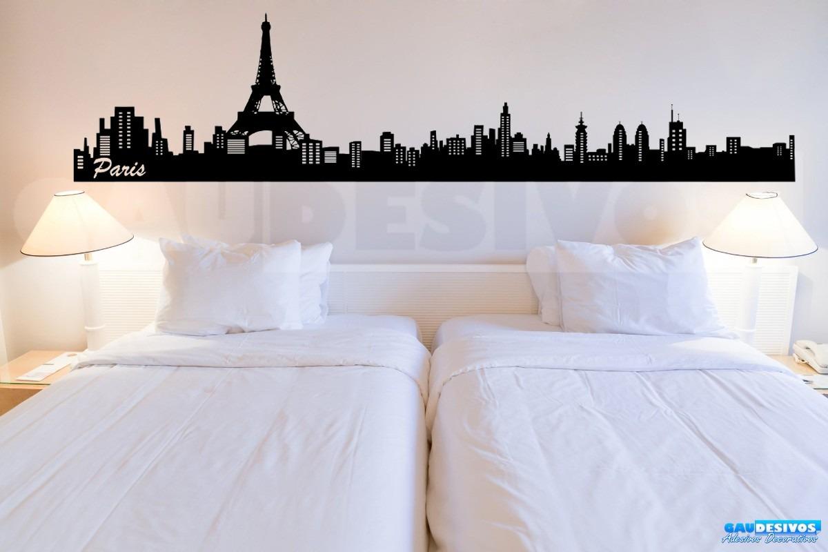 Adesivo Decorativo De Parede Londres Madrid Paris 2 Metro R$ 44 99  #2871A3 1200 800