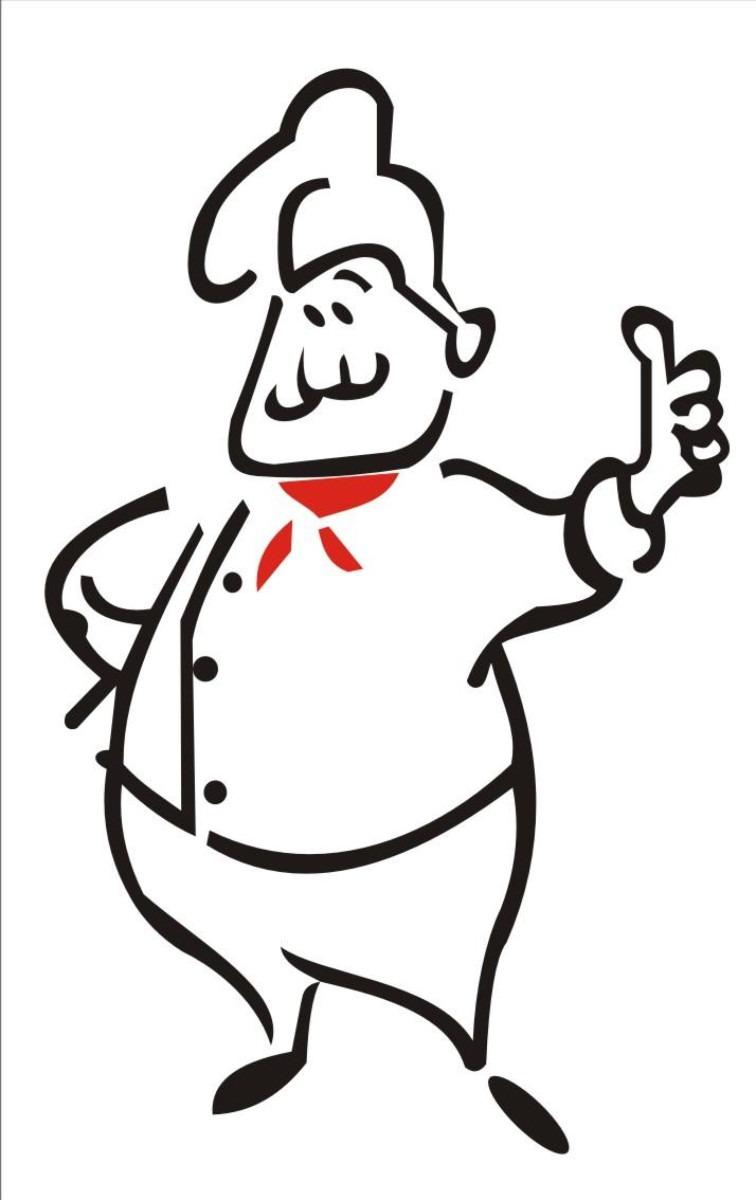 Desenhos de chefe de cozinha Desenhos para colorir IMAGIXS