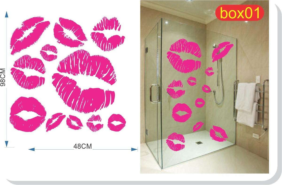Imagens de #B71418 Adesivo Decorativo Para Box Banheiro Blindex * Frete Grátis R$ 49  1200x789 px 3558 Blindex Banheiro Belem