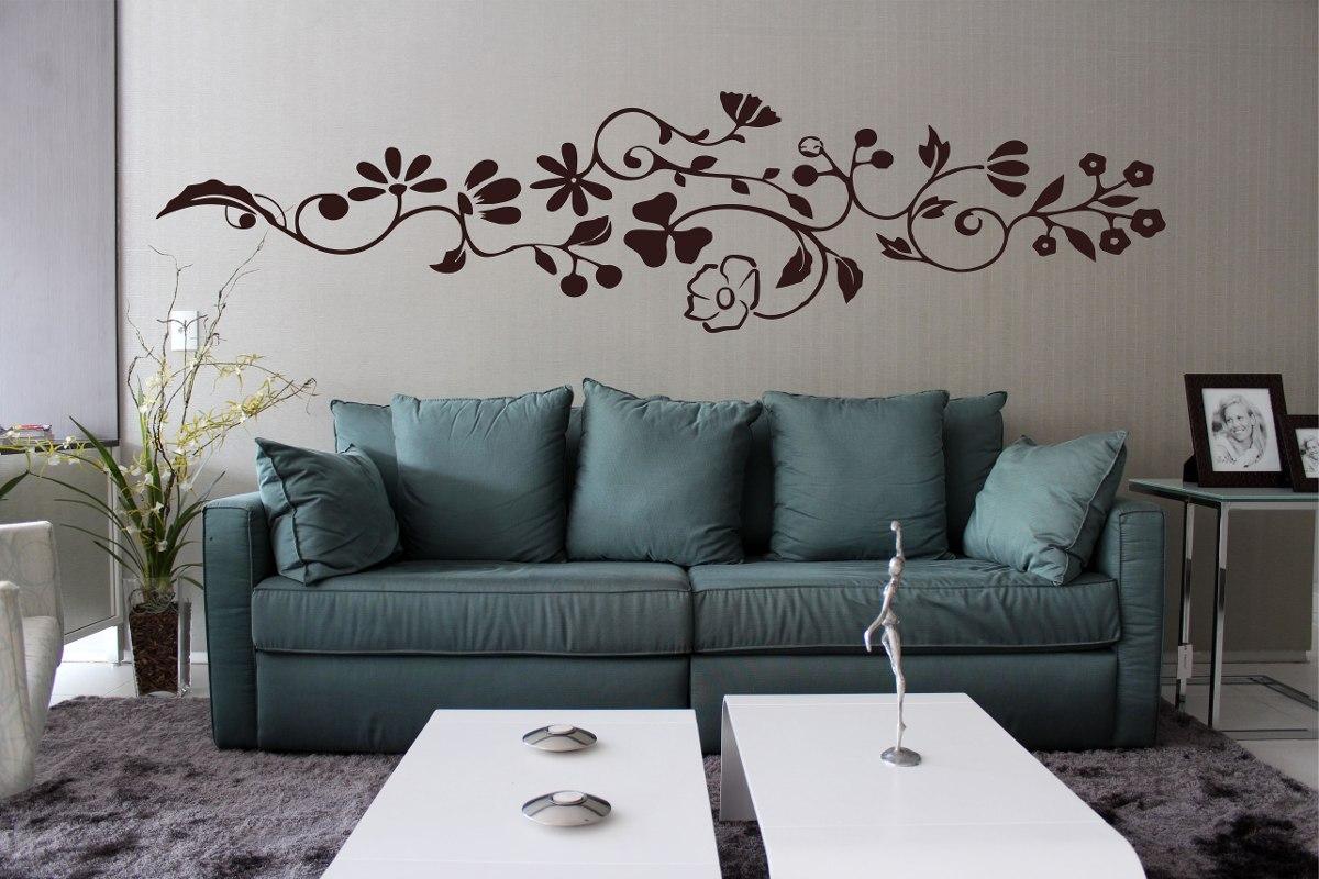 Adesivo Decorativo Parede Sala Quarto Floral Grande Galho R$ 39,99 no MercadoLivre