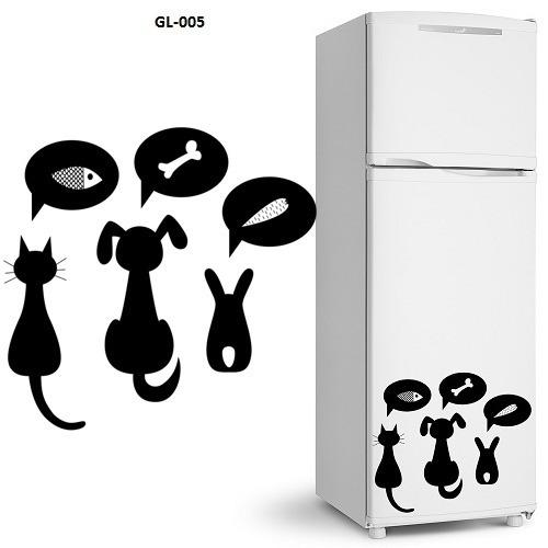 Adesivos De Geladeira Decorativo Cozinha 21 Modelos Parede