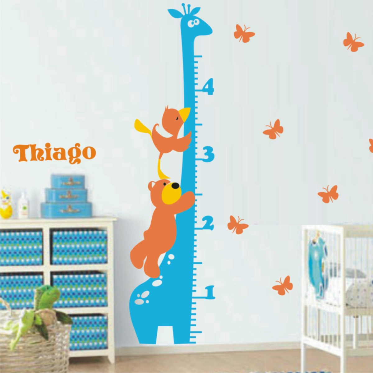 Adesivos de parede decorativo rvores papel parede for Papel pared infantil