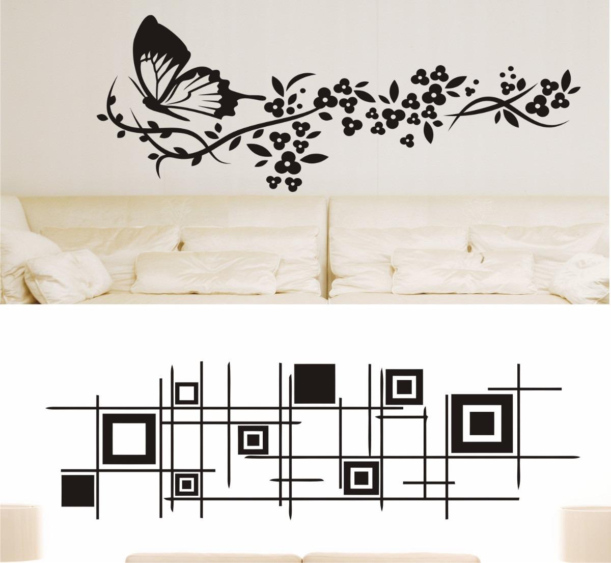 Adesivos decorativos de parede lindos modelos frete gr tis - Frisos decorativos para paredes ...