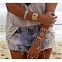 Tatoo Flash Gold;kit Com 6 Cartelas A Moda Do Momento!!!
