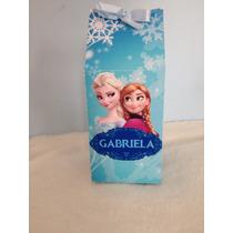 Caixa De Leite Frozen Personalizada