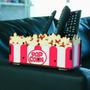 Porta Objetos Caneta Controle Remoto 4 Divisões Mdf Popcorn