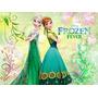 Painel Poster Da Frozen, Personalizamos Para Festa